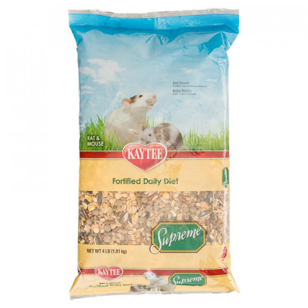 Kaytee Supreme Fortified Daily Diet - Rat & Mouse alternate img #1