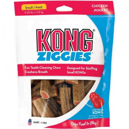 KONG Ziggies - Chicken - Small alternate img #1