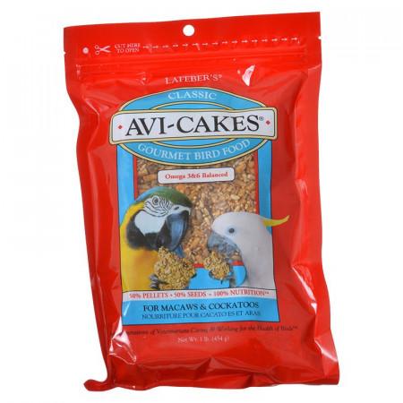 Lafeber Classic Avi-Cakes - Gourmet Macaw & Cockatoo Food alternate img #1