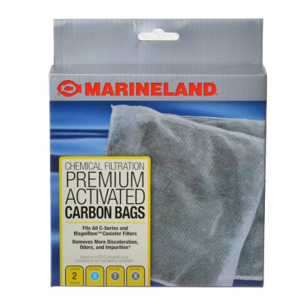 Marineland Rite-Size Premium Activated Carbon Bags for All Magniflow and C-Series Canister Filters alternate img #1