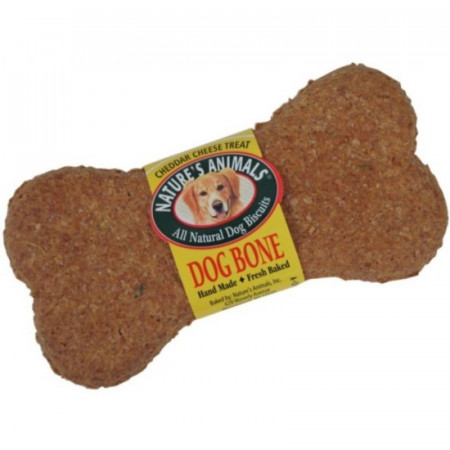 Natures Animals Dog Bone All Natural Dog Biscuits Cheddar Cheese Treat alternate img #1
