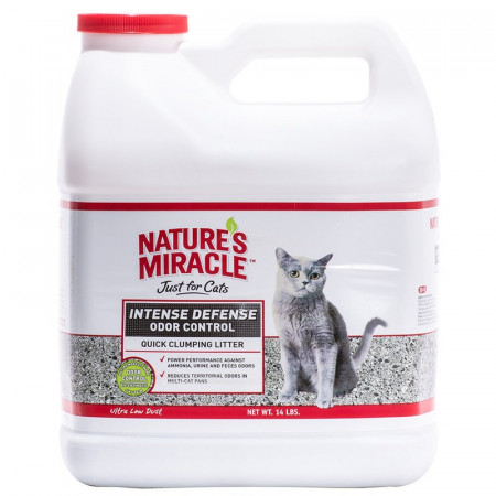 Nature's Miracle Intense Defense Odor Control Quick-Clumping Litter alternate img #1