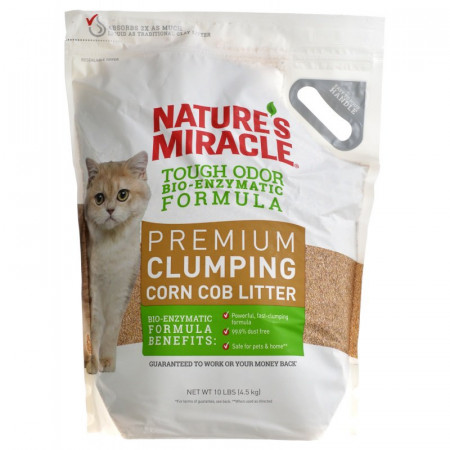 Natures Miracle Premium Clumping Corn Cob Litter for Cats alternate img #1