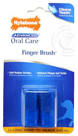 Nylabone Advanced Oral Care Finger Brush alternate img #1