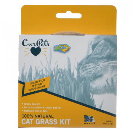 OurPets Cosmic Catnip Kitty Cat Grass alternate img #1