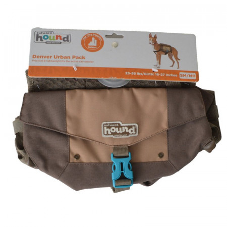 Outward Hound Denver Urban Pack for Dogs - Brown alternate img #1