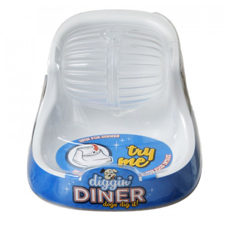 Petmate Diggin Diner Dog Feeder alternate img #1