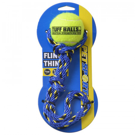 Petsport Tuff Ball Fling Thing Dog Toy alternate img #1