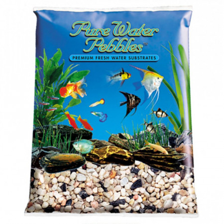 Pure Water Pebbles Aquarium Gravel - Rainbow Gems alternate img #1