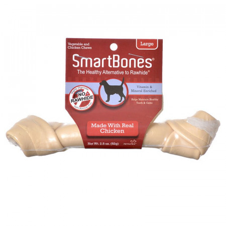 SmartBones Rawhide Free Chicken Bones - Large alternate img #1