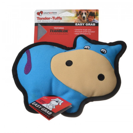 Smart Pet Love Simple Blue Cow Dog Toy alternate img #1