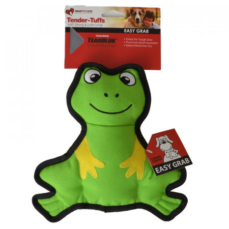 Smart Pet Love Simple Green Frog Dog Toy alternate img #1