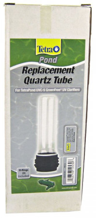 Tetra Pond Replacement UV Quartz Tube - (Black Base) alternate img #1
