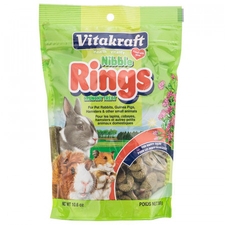 Vitakraft Nibble Rings Crunchy Treats alternate img #1