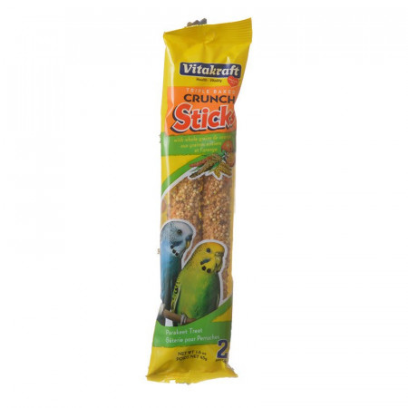 Vitakraft Crunch Sticks Parakeet Treat Orange and Apricot Flavor alternate img #1