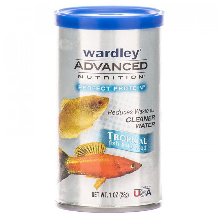 Wardley Advanced Nutrition Perfect Protein Tropical Fish Flake Food alternate img #1
