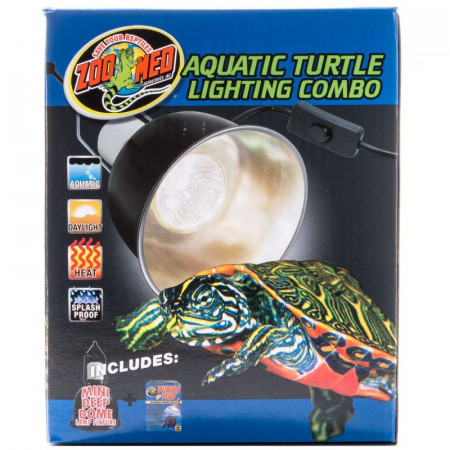 Zoo Med Aquatic Turtle Lighting Combo Kit alternate img #1
