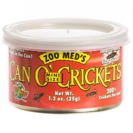 Zoo Med Can O' Mini Crickets alternate img #1