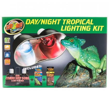 Zoo Med Day/Night Tropical Lighting Kit alternate img #1