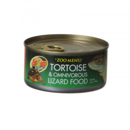 Zoo Med Zoo Menu Canned Tortoise & Omnivorous Lizard Food alternate img #1