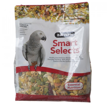 ZuPreem Smart Selects Bird Food for Parrots & Conures alternate img #1