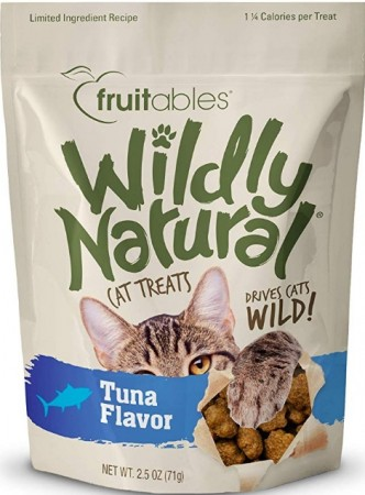 Fruitables Wildly Natural Tuna Flavor Cat Treats alternate img #1