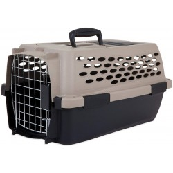See Petmate Vari Kennel Grey and Black in Grey/Black