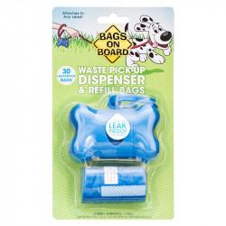 Bags On Board Blue Bone Dispenser