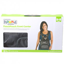 See Outward Hound PoochPouch Front Carrier in Gray