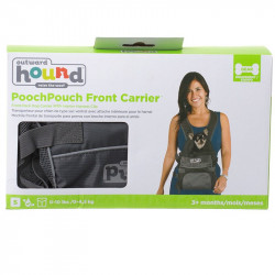 See Outward Hound PoochPouch Front Carrier in Grey
