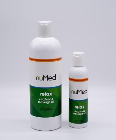 NuMed Massage Oil alternate img #1