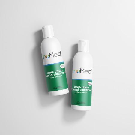 NuMed CBDA + CBD Hand Sanitizer alternate img #1