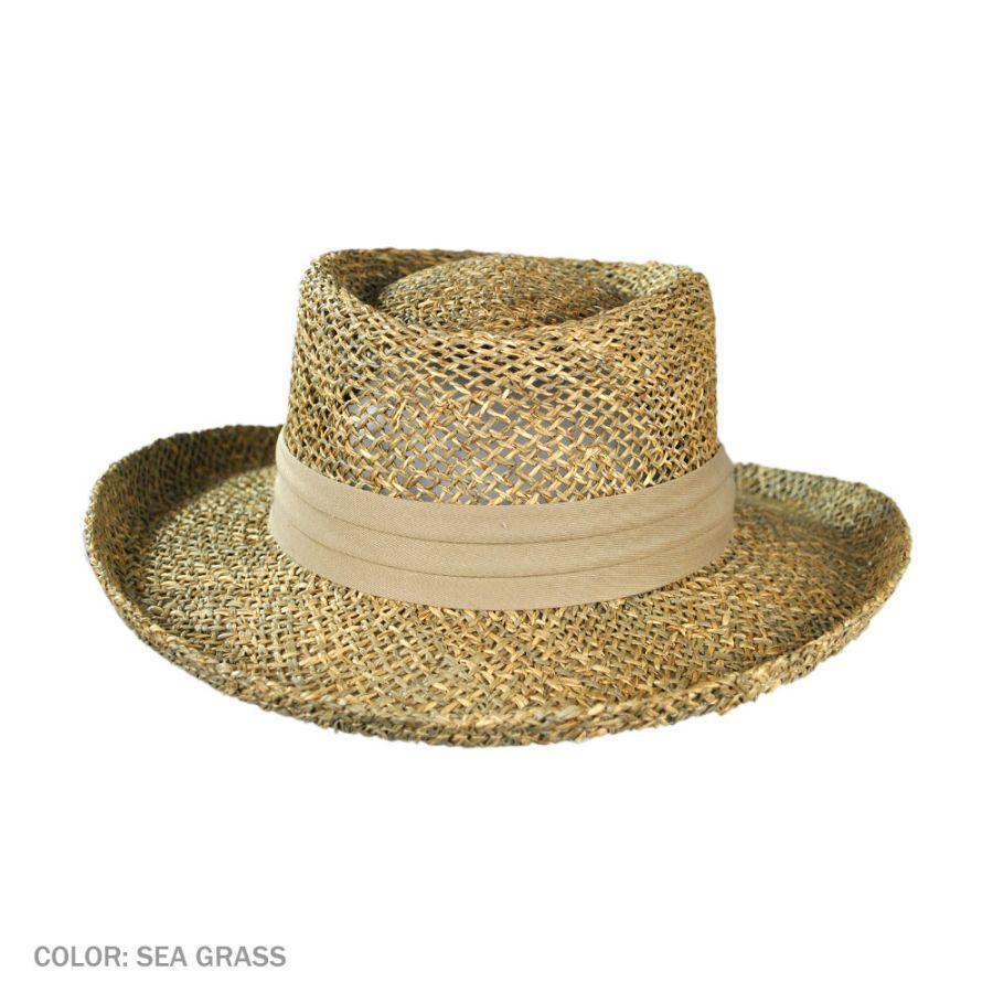 a3da82922c609 Jaxon-Hats-Pebble-Beach-Seagrass-Straw-Gambler-Hat thumbnail