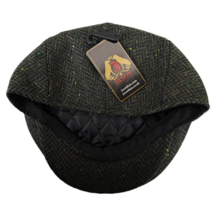 Cambridge Herringbone Wool Ivy Cap  8a96b49bd716
