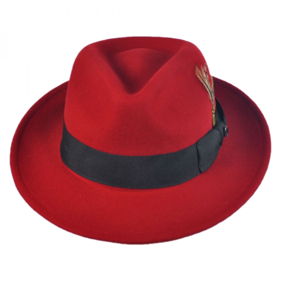 Pachuco Crushable Wool Felt Fedora Hat  2807593816a