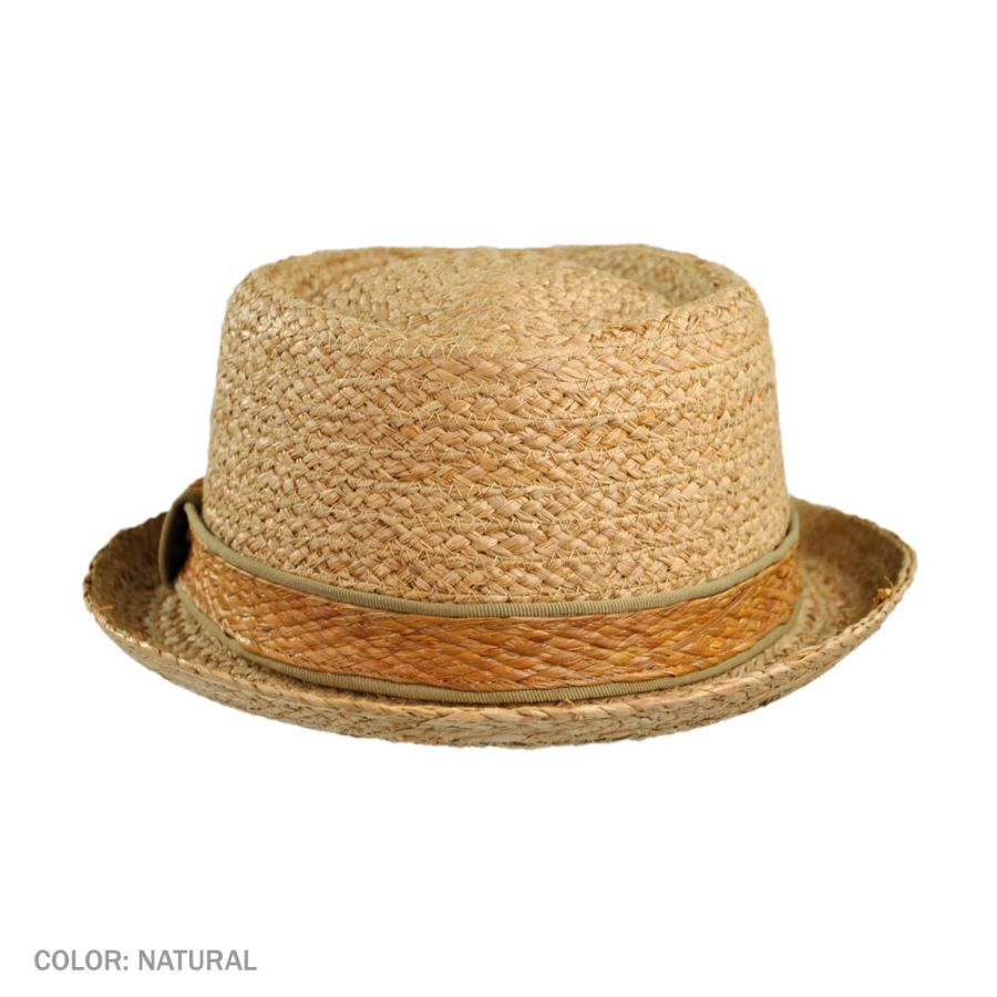 ea18789b Jaxon-Hats-Raffia-Straw-Diamond-Crown-Fedora-Hat thumbnail