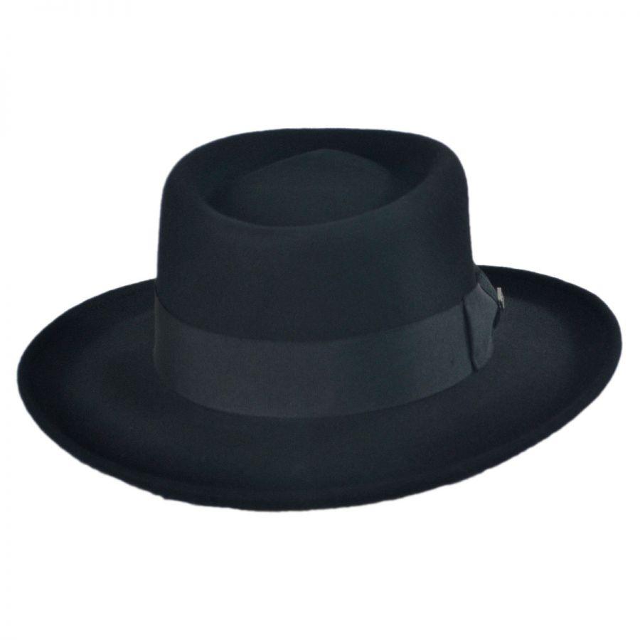 dc1dba9e32aad Jaxon-Hats-Crushable-Wool-Felt-Gambler-Hat thumbnail 5