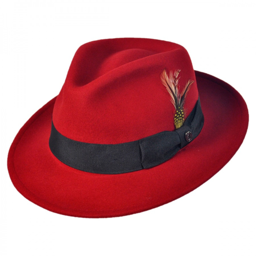 7572af34868c8 Jaxon-Hats-Pachuco-Crushable-Wool-Felt-Fedora-Hat thumbnail