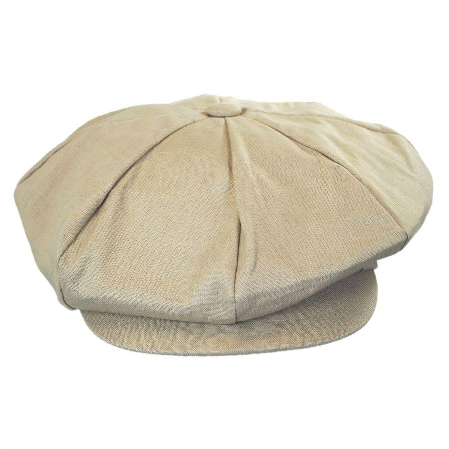 6dfc7412 Jaxon-Hats-Linen-Big-Apple-Cap thumbnail 10