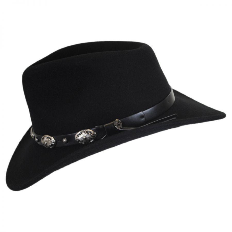 143bb7438e754 Jaxon-Hats-Tombstone-Wool-Felt-Cowboy-Hat thumbnail 3