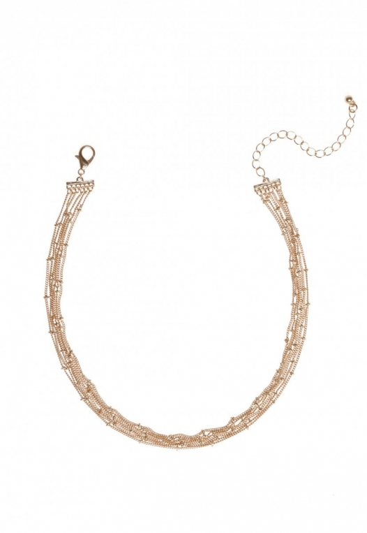 Layered necklace in Gold alternate img #1