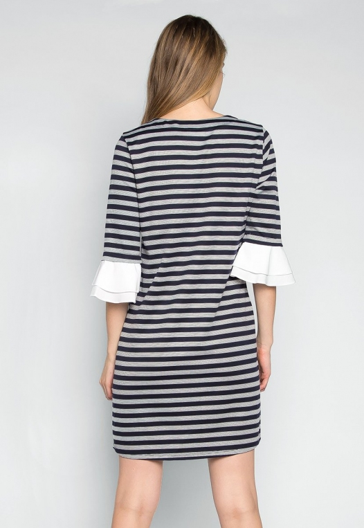 Freelove Striped Tunic Dress alternate img #2