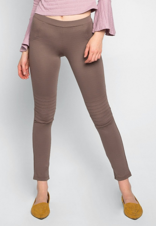 Make It a Double Leggings in Mocha alternate img #1