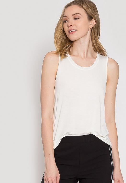 Summer Lush Tank Top in White alternate img #6