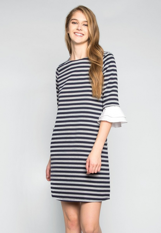Freelove Striped Tunic Dress alternate img #1