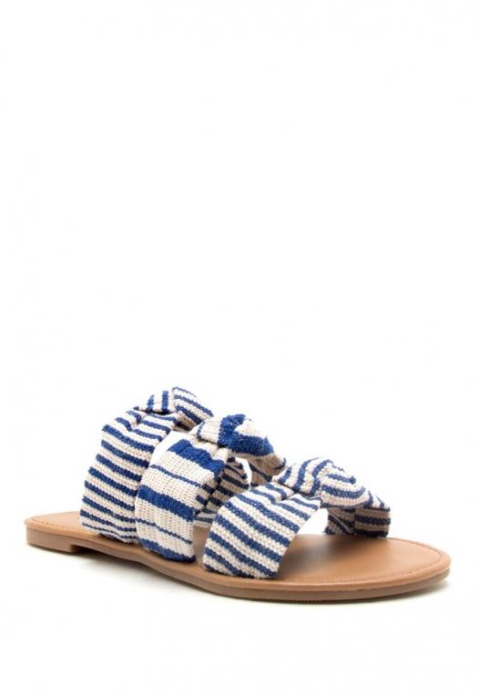 Harbor Multi Stripe Strap Sandals alternate img #1