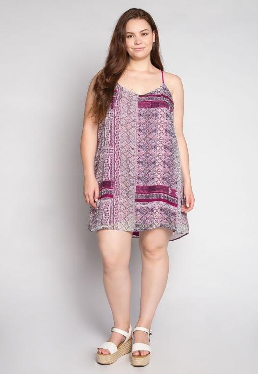 Plus Size California Love Mini Dress alternate img #4