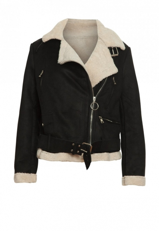 Colorado Sherpa Jacket in Black alternate img #7