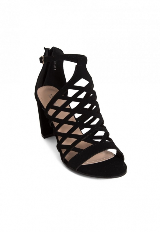 Farrow Laser Cut Ankle Boots in Black alternate img #4