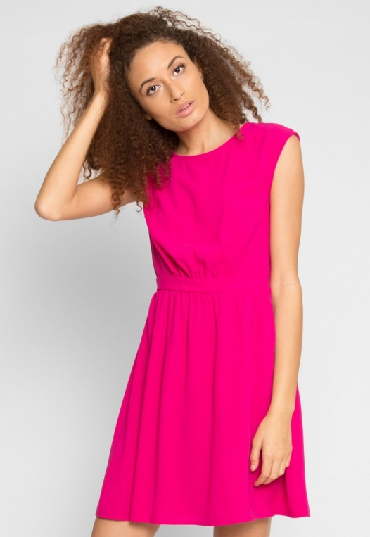 Cherry Pop Fit and Flare Dress alternate img #2